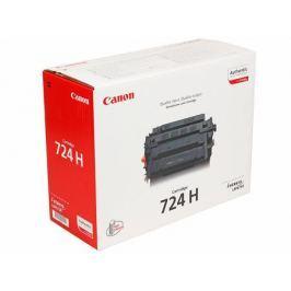 Картридж Canon 724H для LBP 6750/6750N/6750DN. Чёрный. 12500 страниц.