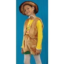 Карнавальный костюм Костюмы Гриб (головной убор, жилет, шорты) в асс-те
