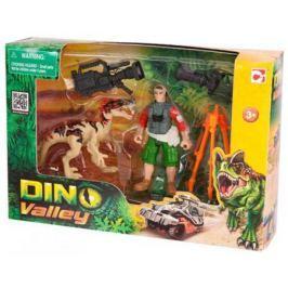 Игровой набор CHAP MEI Динозавр Эораптор и кинооператор 520007-2