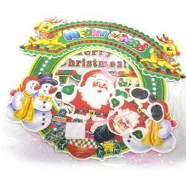Украшение новогоднее подвеска декоративная, 25 см, картон, ПВХ|3