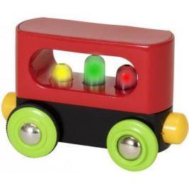 Мой первый вагончик с подсветкой Brio