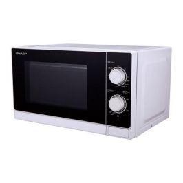 Микроволновая печь Sharp R-6000RW 800 Вт белый черный