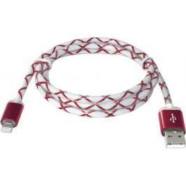 Кабель Defender ACH03-03LT USB-Lightning 1.0м красный 87552