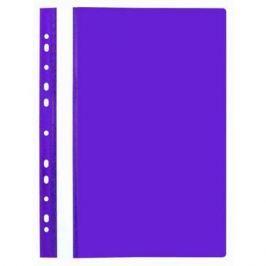Папка-скоросшиватель, фиолетовая, ф.А4, с европланкой, 130/180 мкр 319/11