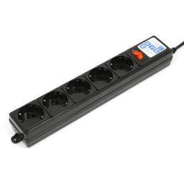 Сетевой фильтр Powercube SPG-B-15 5M (5 poзеток) черный