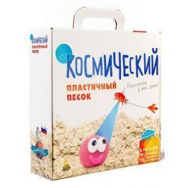 Песок 1 Toy Космический песок Зелёный 2 кг с песочницей и формочками