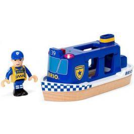 Игровой набор Brio Полицейский катер