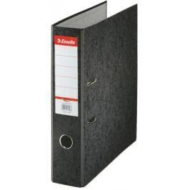 Папка-регистратор Esselte Rainbow А4 50мм картон черный 17924P