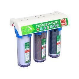 Трехступенчатый фильтр Гейзер Био 312 для очистки мягкой воды.