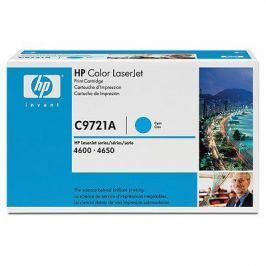 Картридж HP C9721A (для Color LJ4600) голубой