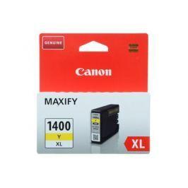 Картридж Canon PGI-1400XL Y для MAXIFY МВ2040 и МВ2340. Желтый. 935 страниц.