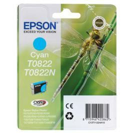 Картридж Epson Original T08224A для R270/390/RX590 голубой (C13T11224A10)
