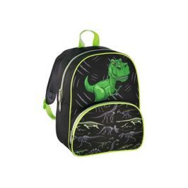 Рюкзак детский Hama Dino черный/зеленый 00139099