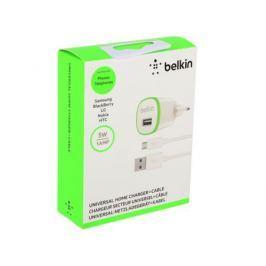 Сетевое зарядное устройство Belkin 1A белый F8M710VF04-WHT