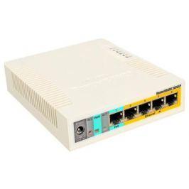 Коммутатор Mikrotik RB260GSP 600Mhz CPU 128MB RAM 5xGbit LAN