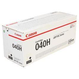Картридж Canon 040 H Bk для принтеров i-SENSYS LBP712Cx, LBP710Cx. Чёрный. 12500 страниц