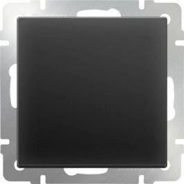 Выключатель одноклавишный проходной черный матовый WL08-SW-1G-2W 4690389054143