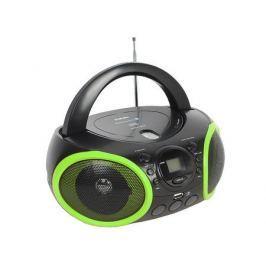 Аудиомагнитола BBK BX150BT черный/зеленый