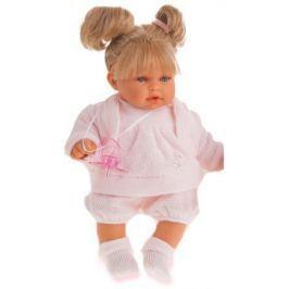 Кукла Munecas Antonio Juan Лана блондинка плач., 27 см 1112Bl