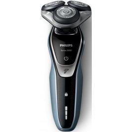 Бритва Philips S5330/41 чёрный морская волна