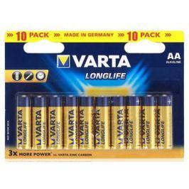 Батарейки Varta Longlife AA 10 шт