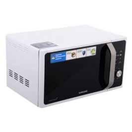 Микроволновая печь Samsung MS23F301TAW мощность 800Вт, объем 23л, внутреннее покрытие-керамическое, блокировка от детей, цвет-белый