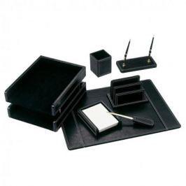 Настольный набор Good Sunrise 7 предметов МДФ/искуственная кожа черный BK7W-1A