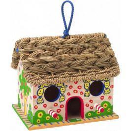 Набор для декора дерев. домика для птиц