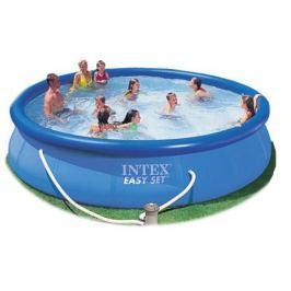 Надувной бассейн INTEX Easy Set 457х91х91см.(насос-фильтр,лест.,настил,тент,наб. д/чистки) 220в.