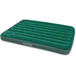 Надувной матрас-кровать INTEX дауни 137х191х22см с встр. ножн.насосом