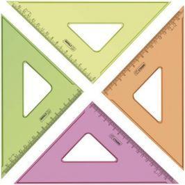 Треугольник СТАММ ТК57 16 см, флюоресц., прозр., 4 цв.