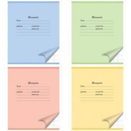 Тетрадь школьная Action! мелов. картон, узкая лин., ф. А5, 12 л.,4 цвета ассорти|2 AN 1201/3ma
