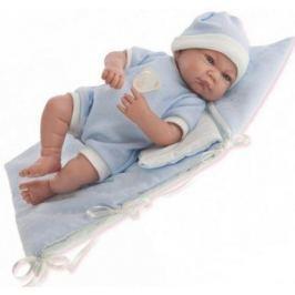 Кукла Munecas Antonio Juan Ферран в голубом, озвуч.,40 см 3365B