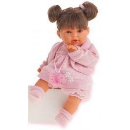Кукла Munecas Antonio Juan Лана брюнетка плач., 27 см 1112Br