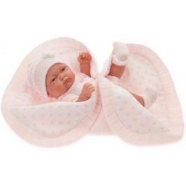 Кукла-младенец Munecas Antonio Juan Карла в розовом, 26 см 4069P