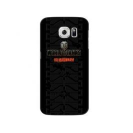 Чехол Deppa Art Case и защитная пленка для Samsung Galaxy S6, Танки_Протектор,
