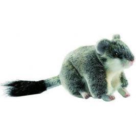 Мягкая игрушка хомячок Hansa Хомячок джунгарский 12 см серый плюш 4834