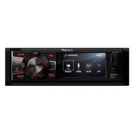 Автомагнитола Pioneer MVH-580AV USB MP3 FM RDS 1DIN 4x50Вт черный