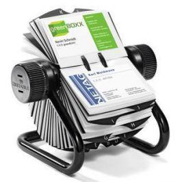 Визитница Durable Rotary Visifix на 400 карт черный 248101