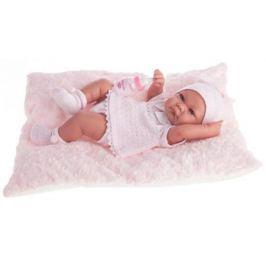 Кукла-младенец Munecas Antonio Juan Ника в розовом 42 см 5054P