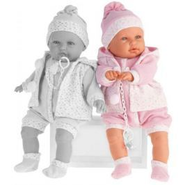 Кукла Munecas Antonio Juan Бенита в розовом 55 см со звуком 1901P
