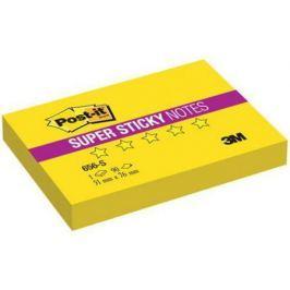 Бумага с липким слоем 3M 90 листов 51х76 мм желтый 656-S
