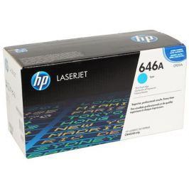 Картридж HP CF031A для LaserJet CM4540 MFP, Голубой. 12 500 страниц.