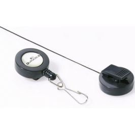 Рулеточный крепеж для бейджа Durable с карабином 10шт 822158