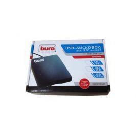 Внешний привод FDD BURO BUM-USB USB 2.0 черный Retail