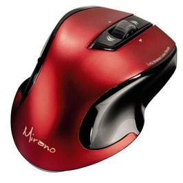 Мышь беспроводная HAMA Mirano H-53877 красный чёрный USB