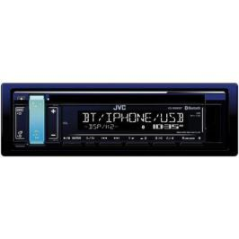 Автомагнитола JVC KD-R889BT USB MP3 CD FM 1DIN 4x50Вт черный