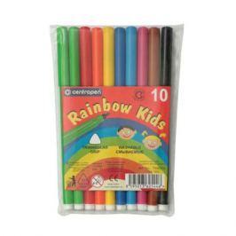 Набор фломастеров Centropen RAINBOW KIDS 10 шт разноцветный 2063895 2063895