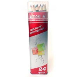 Набор цветных карандашей Action! ACP303-24 24 шт ACP303-24