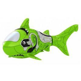 Интерактивная игрушка ZURU RoboFish акула плавает в воде от 3 лет зелёный 2501-7